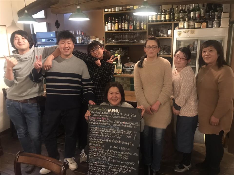 ワインの居酒屋ボワヴェ-ルさんにて、歓迎会♪-大田原市蛭田のグル-プホ-ムほのぼの-